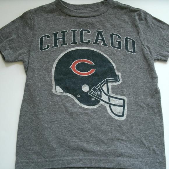 7236ed8f Kids Chicago Bears T-Shirt Gray Short Sleeves XS 5